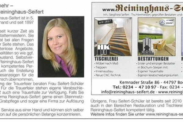 Hallo Hattingen: Bestattungen und mehr