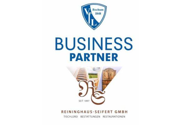 Offizieller Business Partner des VfL Bochums 1848