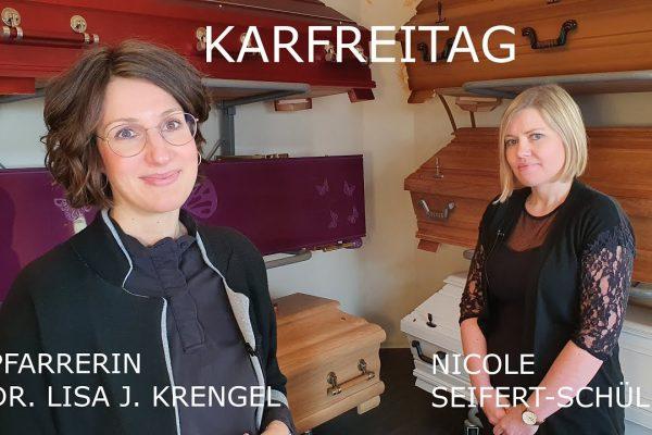 Karfreitag Special mit Pfarrerin Lisa Krengel
