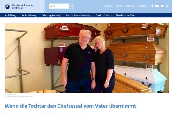 So klappt die Übergabe im Familienunternehmen – HWK Dortmund
