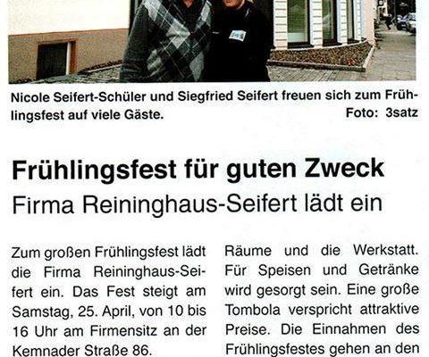 Reininghaus Seifert Frühlingsfest
