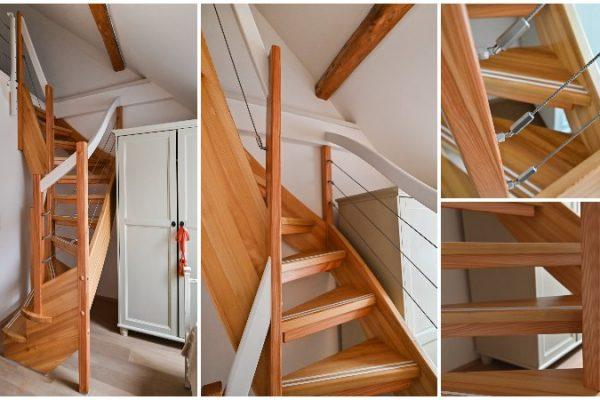 Die Treppe nach Maß – auch auf kleinstem Raum
