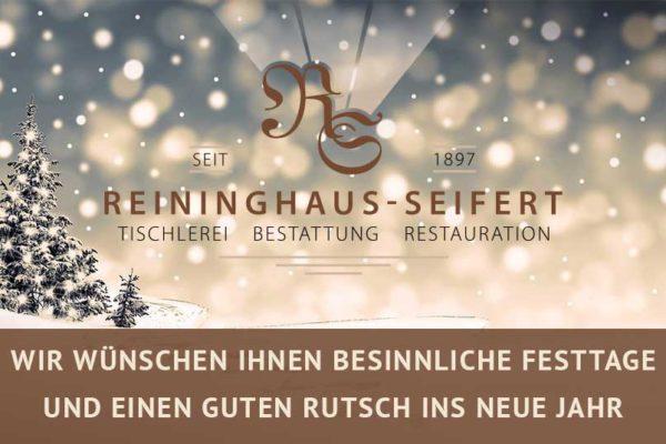 Weihnachtsgruss 2019